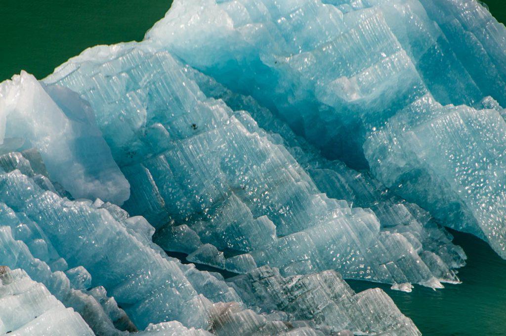 Endicott Arm Iceberg Closeup