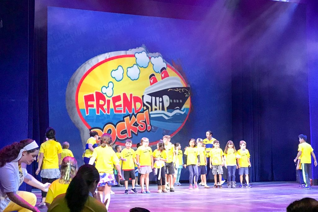 Friendship Rocks Walt Disney Theatre