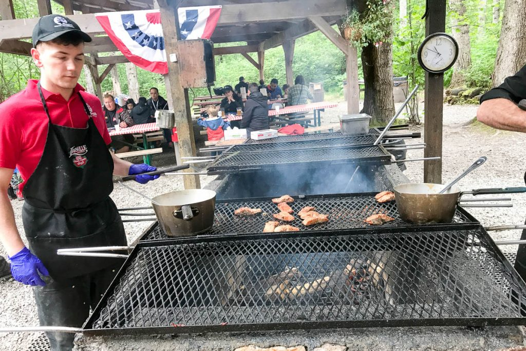 Liarsville Gold Rush Salmon Bake