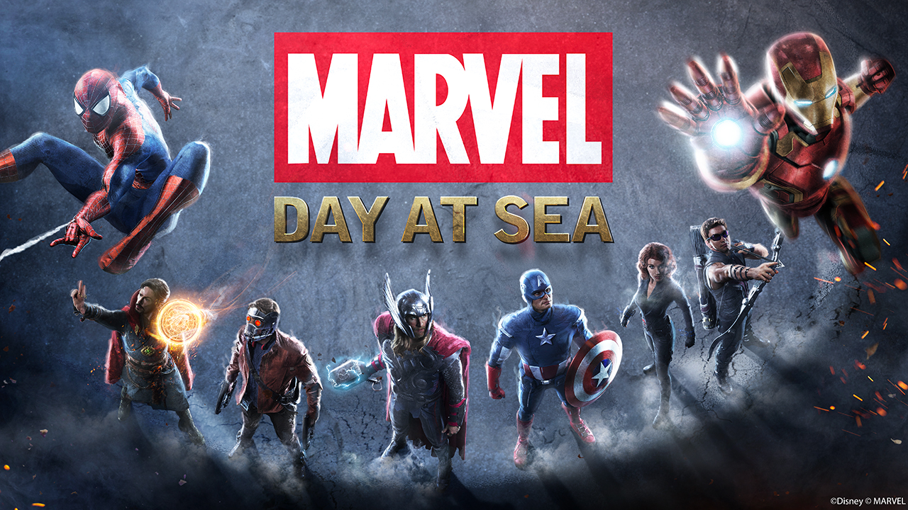 Marvel Day At Sea Disney Reveals The Complete List Of Super Heroes Assembling On The Disney