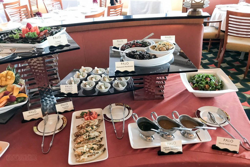 Palo Brunch Antipasto Salad Buffet