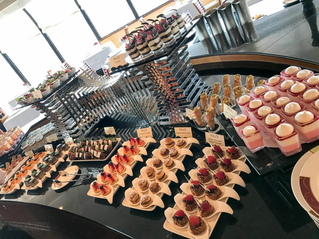 Palo Brunch Dessert Buffet