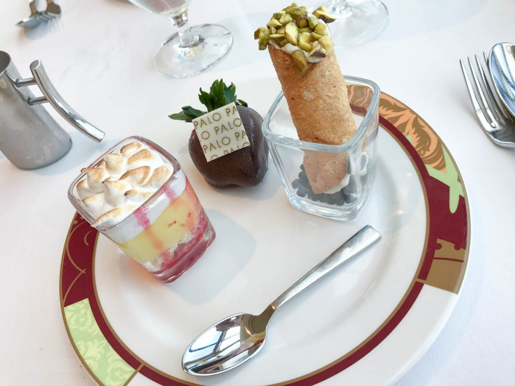 Palo Brunch Dessert Sampling