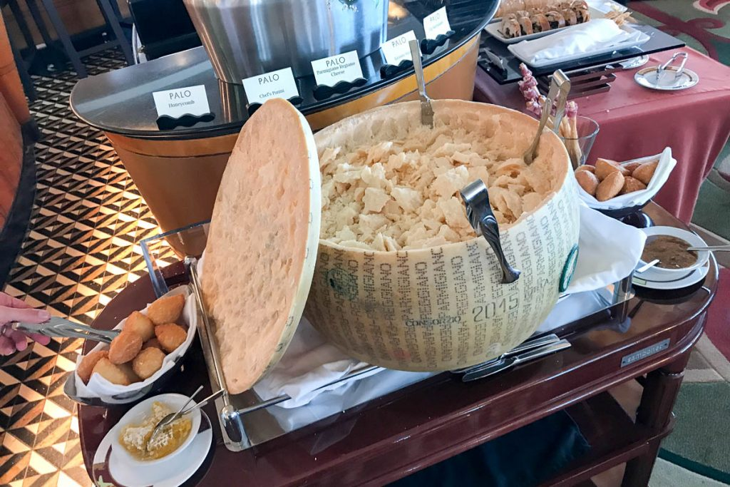 Palo Brunch Parmigiano Reggiano Wheel