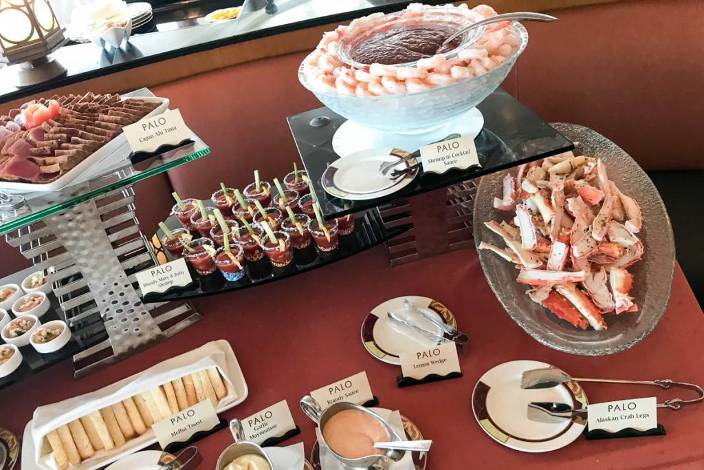 Palo Brunch Seafood Buffet