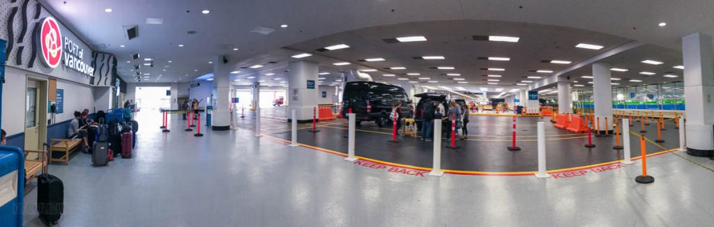 Port Of Vancouver Private Transportation Pickup Area