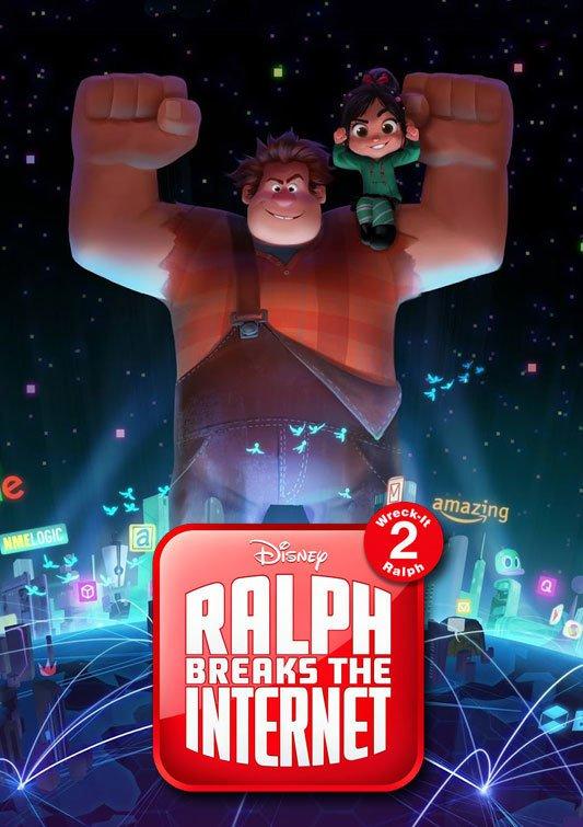 Ralph Breaks The Internet Wreck It Ralph 2 Teaser Poster