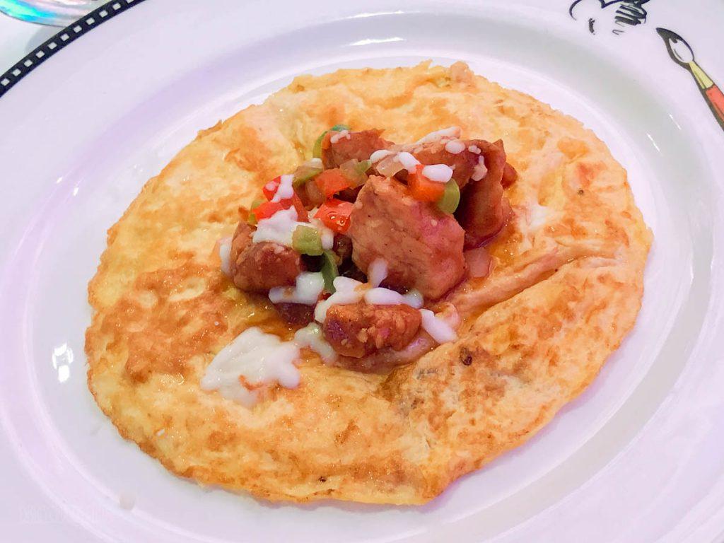 See Ya Real Soon Breafast Chef's Farewell Omlet