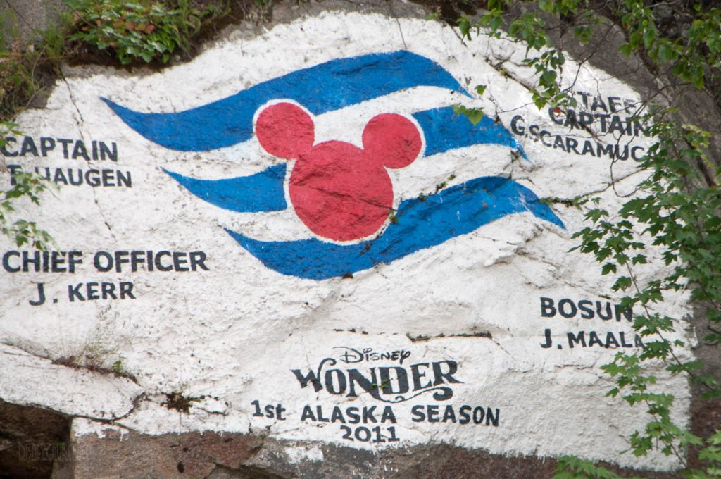 Skagway Maiden Call Wall Disney Wonder 2011