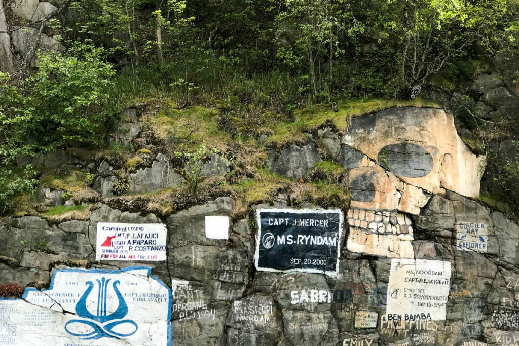 Skagway Maiden Call Wall
