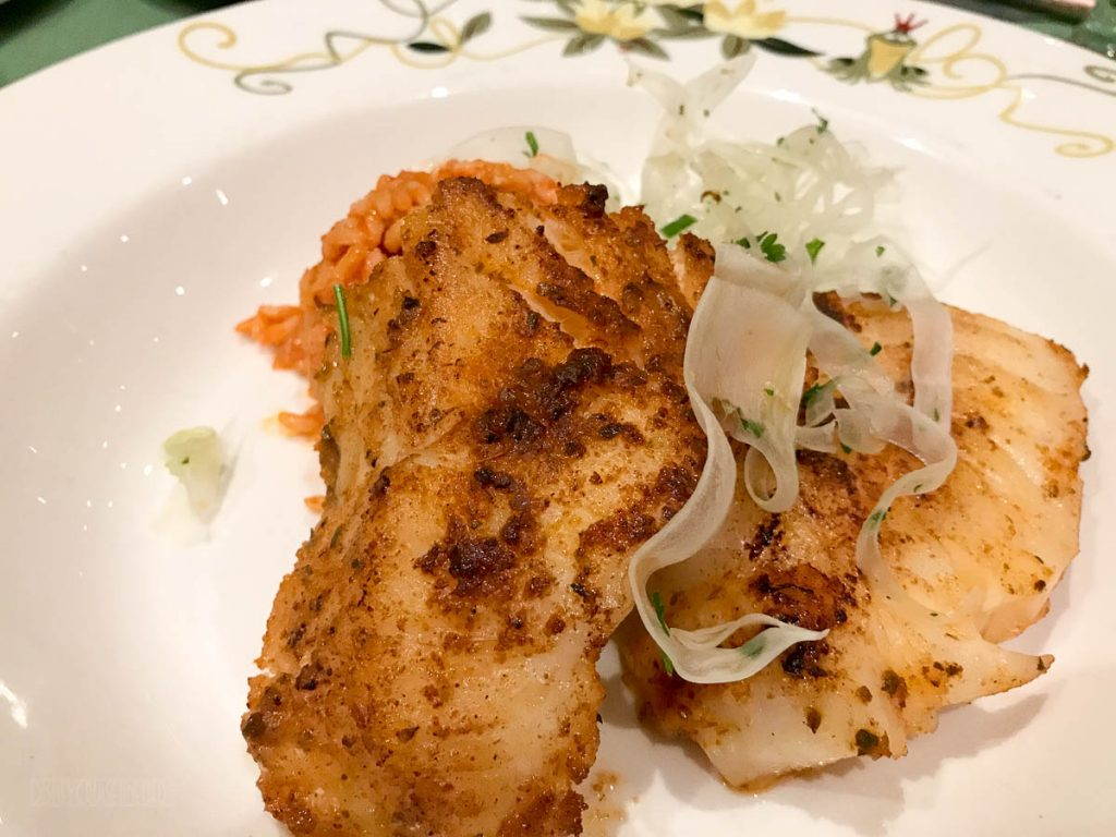 Tiana's Place Cajun Spiced Sea Bass SHELFISH FREE
