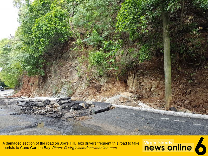 Tortola Storm Damage August 2017
