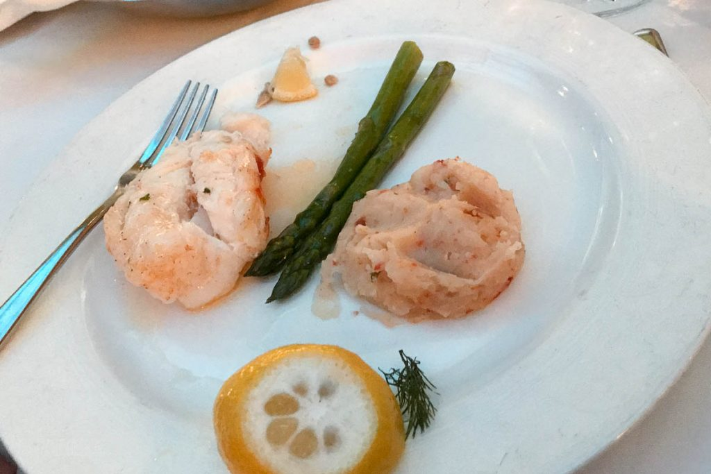 Triton's Captains Gala Oven Baked Lobster Tail