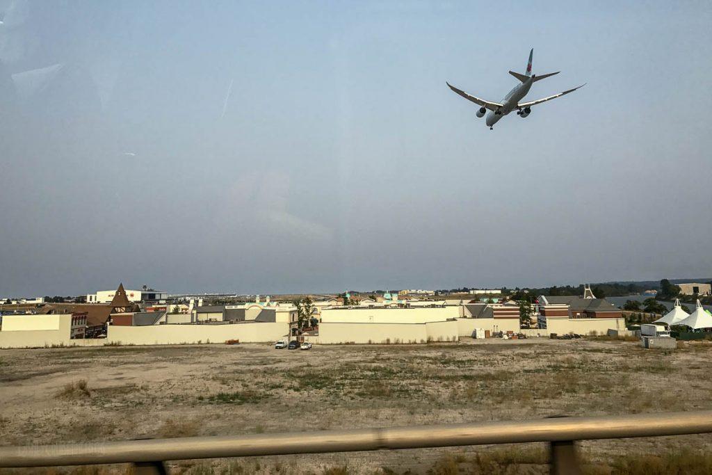 Vancouver International Airport YVR Plane Landing