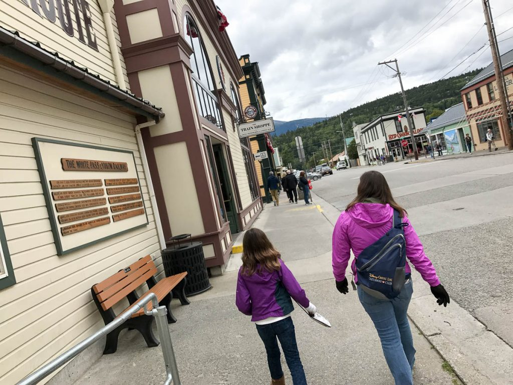 White Pass Train Station Skagway