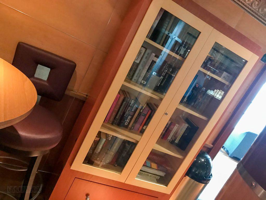 Wonder Cove Cafe Bookcase