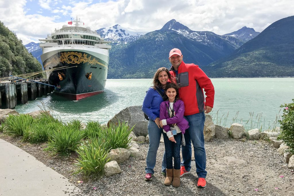 Wonder Skagway Family Photo