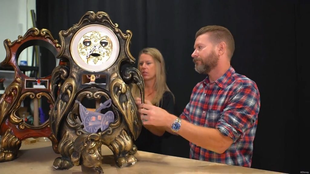 BatB Enchanted Objects Cogsworth 2