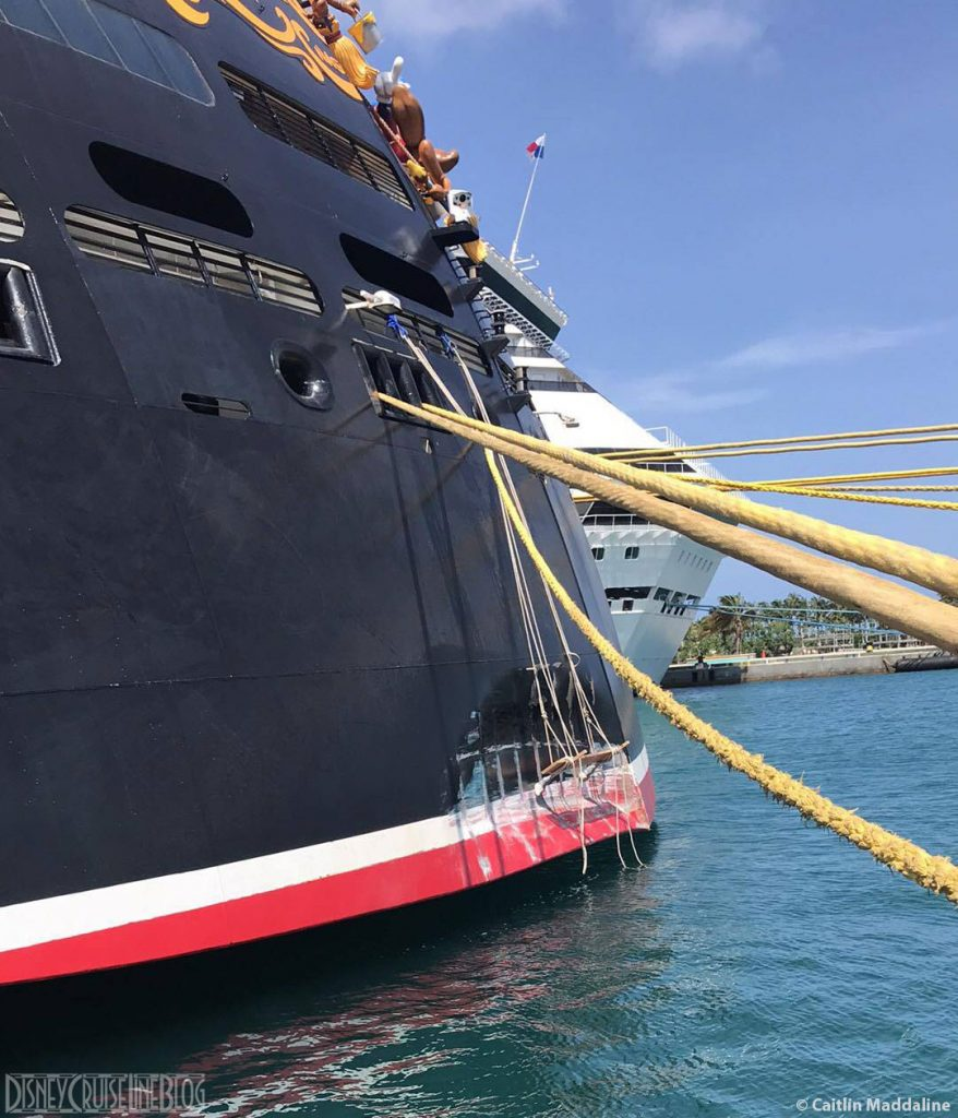 Disney Dream Nassau Stern Damage 20170930 Painting