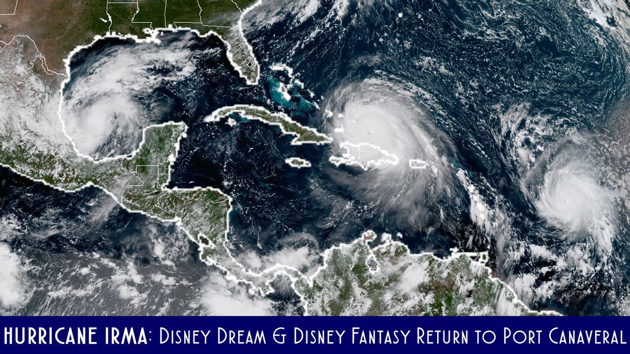 Hurricane Irma Dream Fantasy Port Canaveral