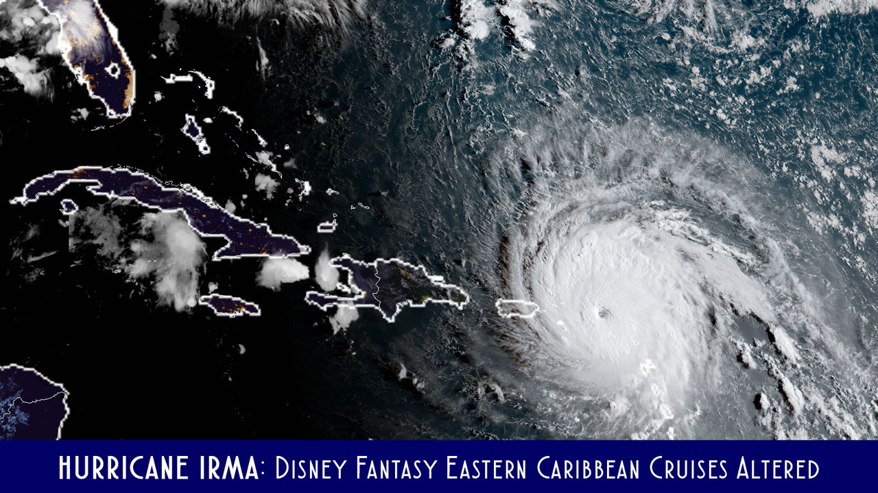 Irma Fantasy Eastern Itineray Alterations