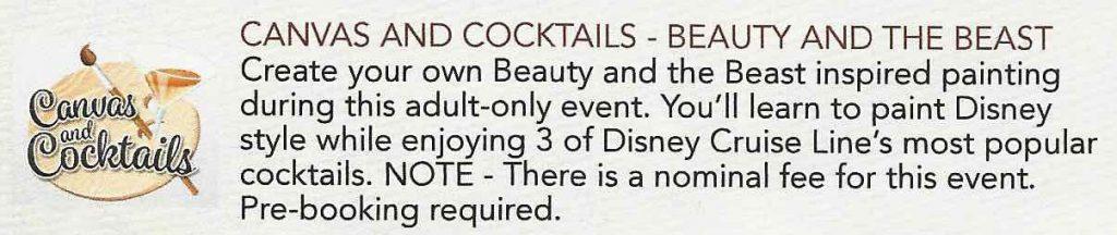 Canvas And Cocktails Personal Navigator Description