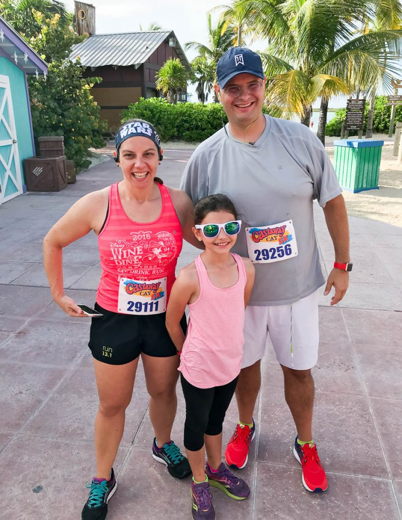 Castaway Cay 5k Family Photo