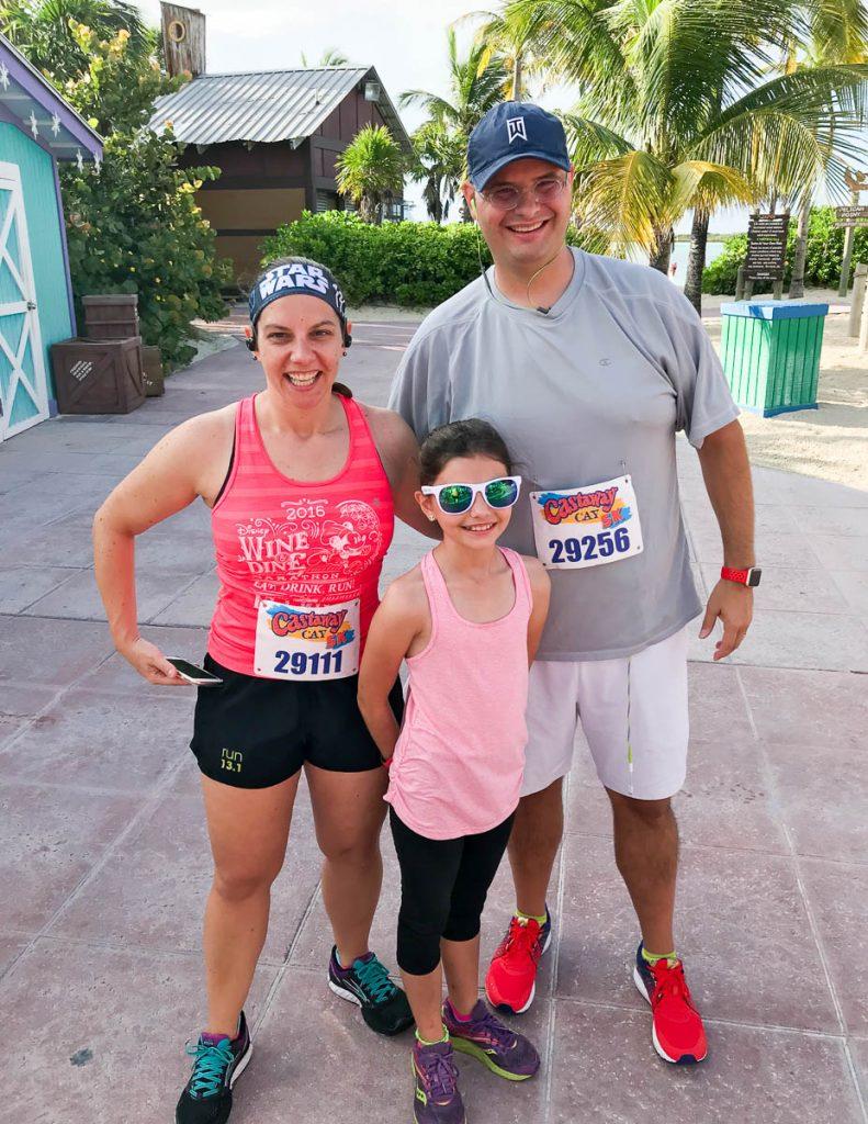 Castaway Cay 5k Family Photo