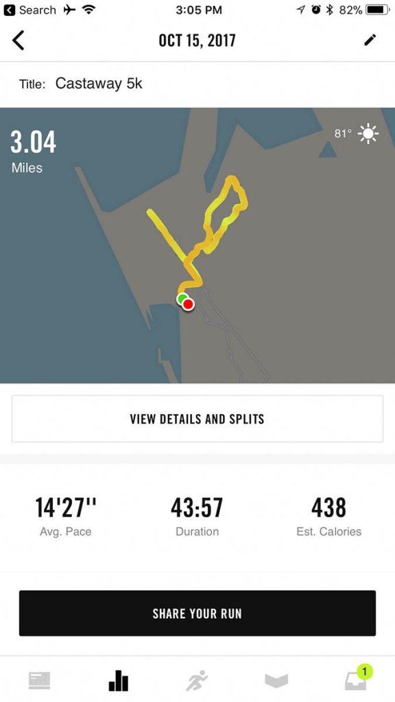 Castaway Cay 5k Nike Run