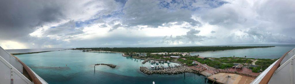 Castaway Cay Post Storm Pano