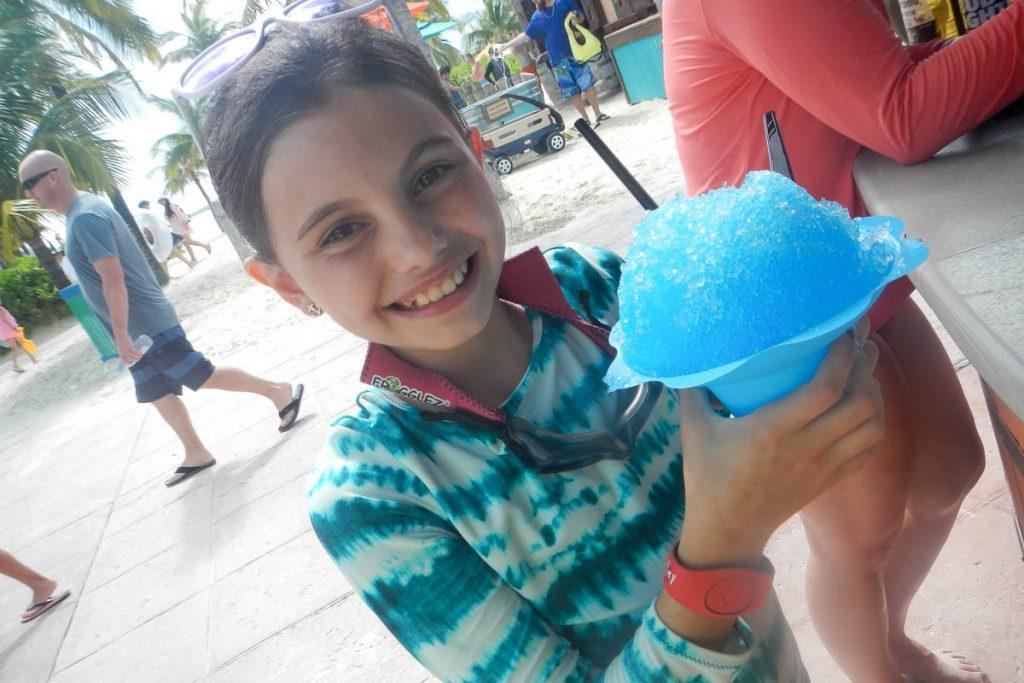 Castaway Cay Snow Cone