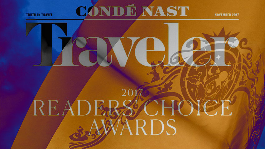 Conde Nast 2017 Reader World Best Awards DCL