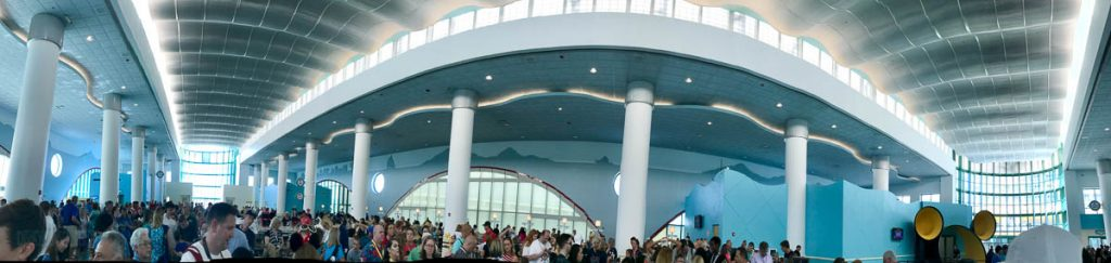 Cruise Terminal 8 Boarding Time