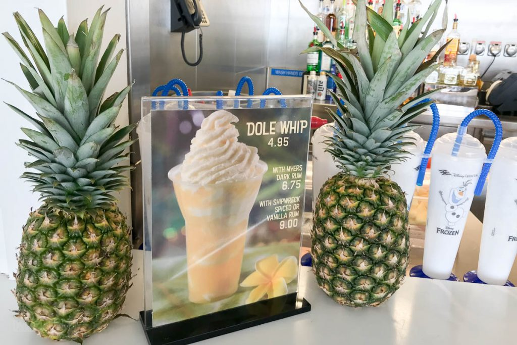 Dole Whip Rum Frozone Treats