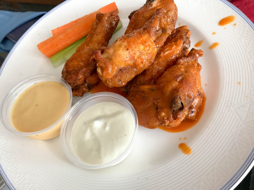 Dream Room Service Buffalo Wings