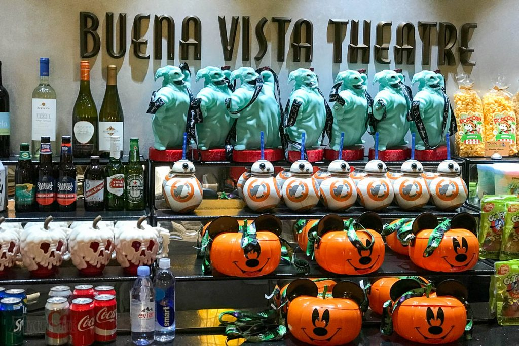 Halloween On The High Seas Popcorn Buckets