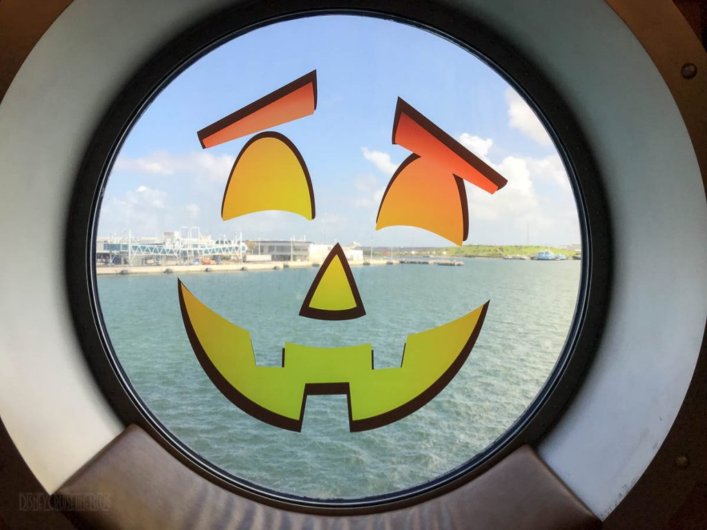Halloween On The High Seas Pumpkin Porthole
