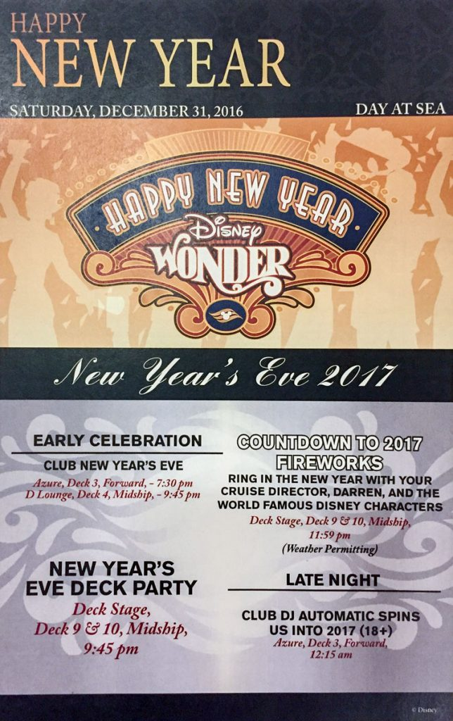 NYE 2017 Wonder Events Handout
