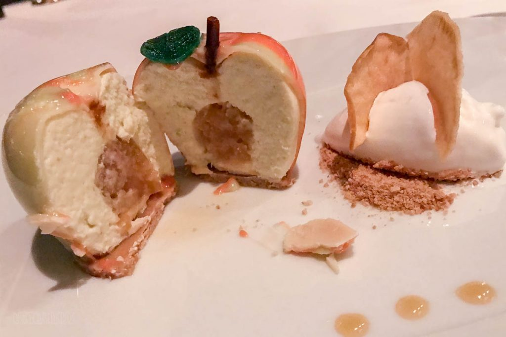 Remy Gout Hunnel Green Apple Dessert Cross Section