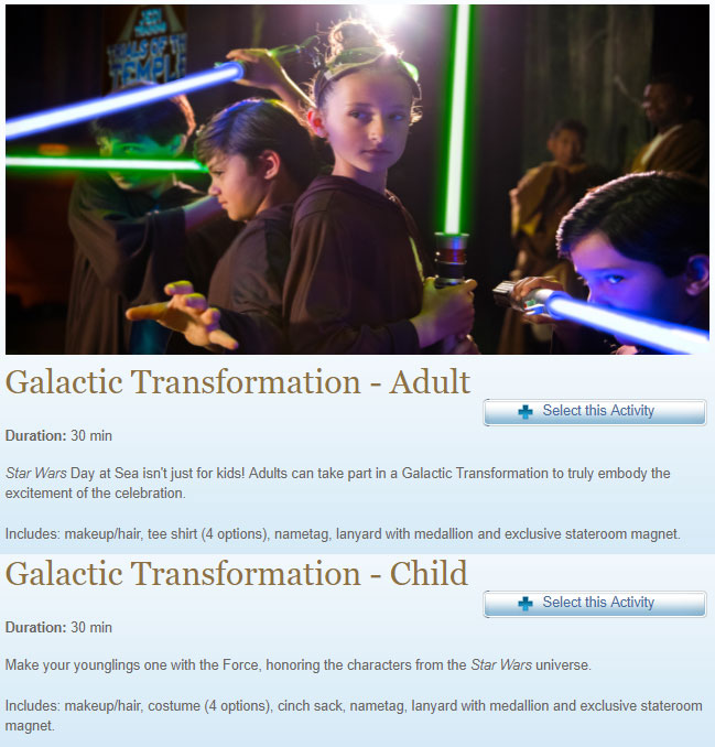 SWDAS 2018 Galactic Transformation