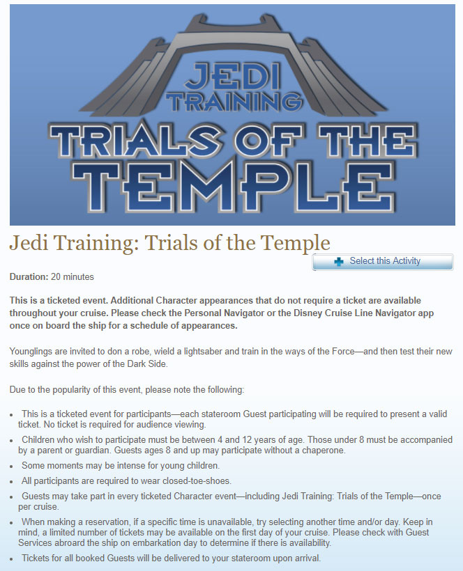 SWDAS 2018 Jedi Training Overview