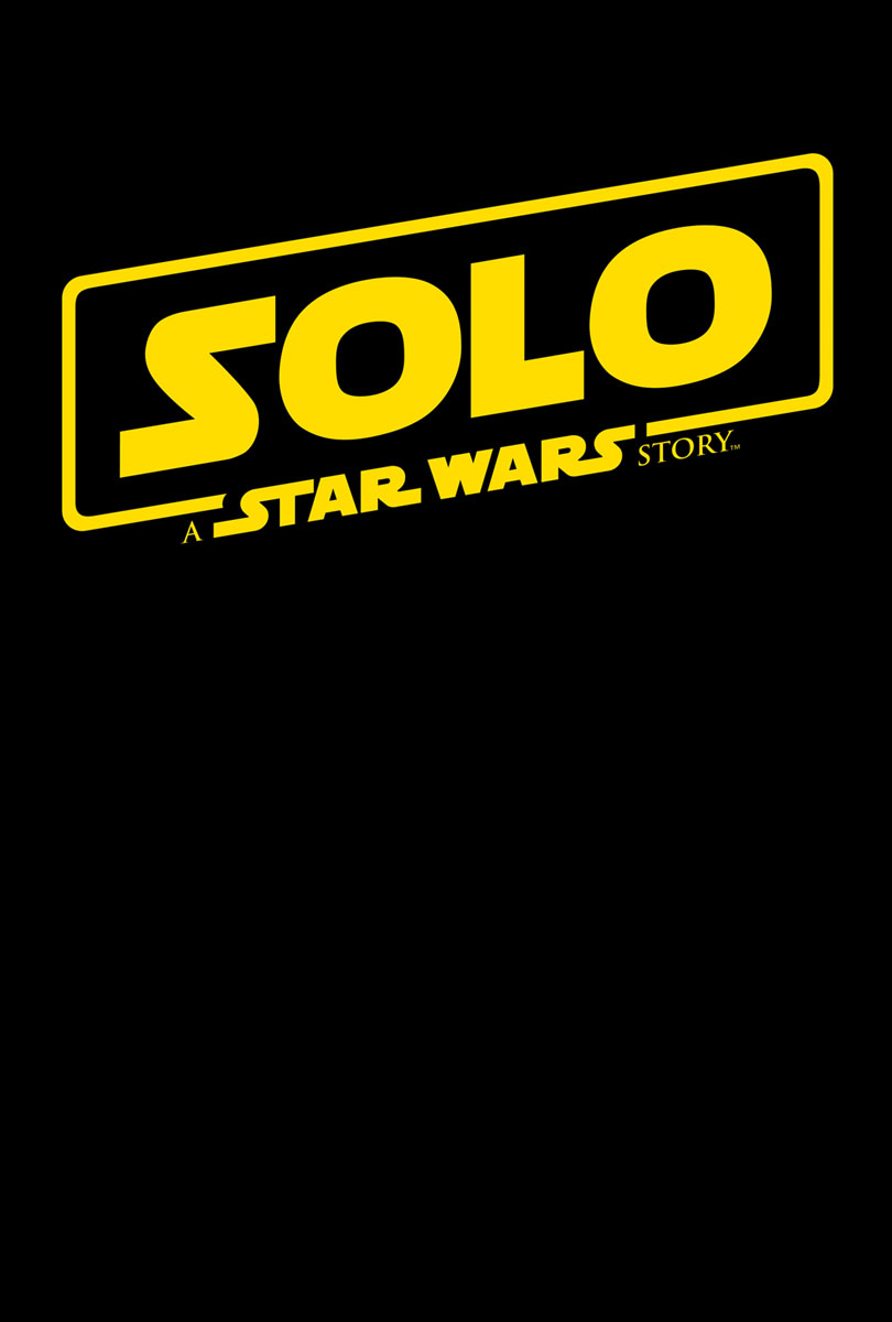 Solo A Star Wars Story Title Treatment Movie Poster