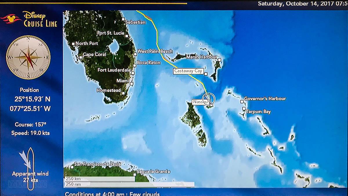 Stateroom TV Map Dream 20171014 Nassau