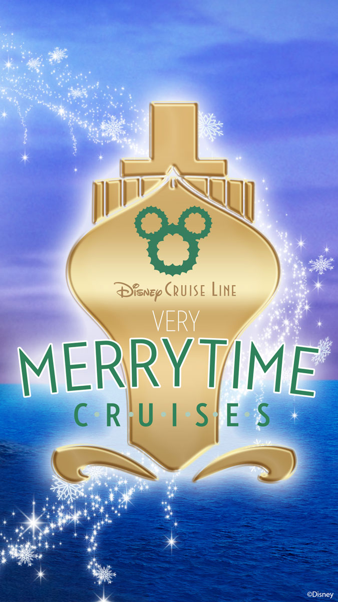 DCL Very Merrytime Cruises Mobile Wallpaper