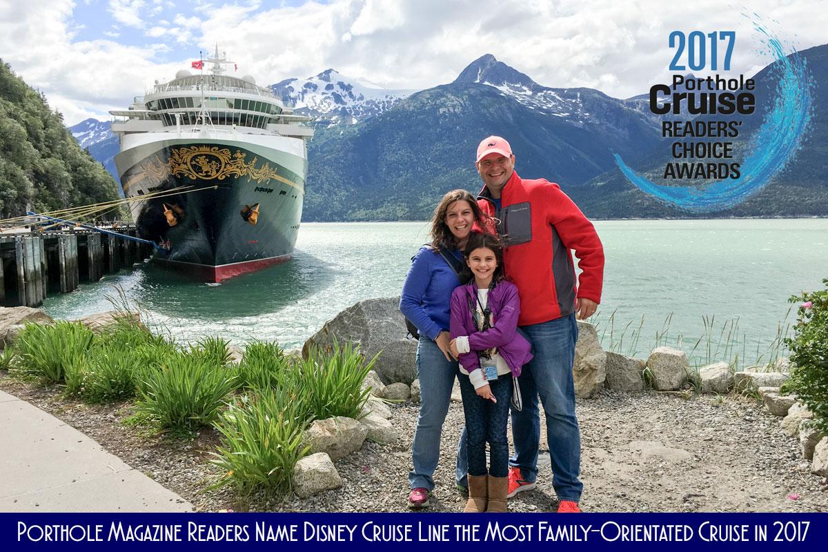 DCL Wonder Alaska Porthole Readers Choice 2017