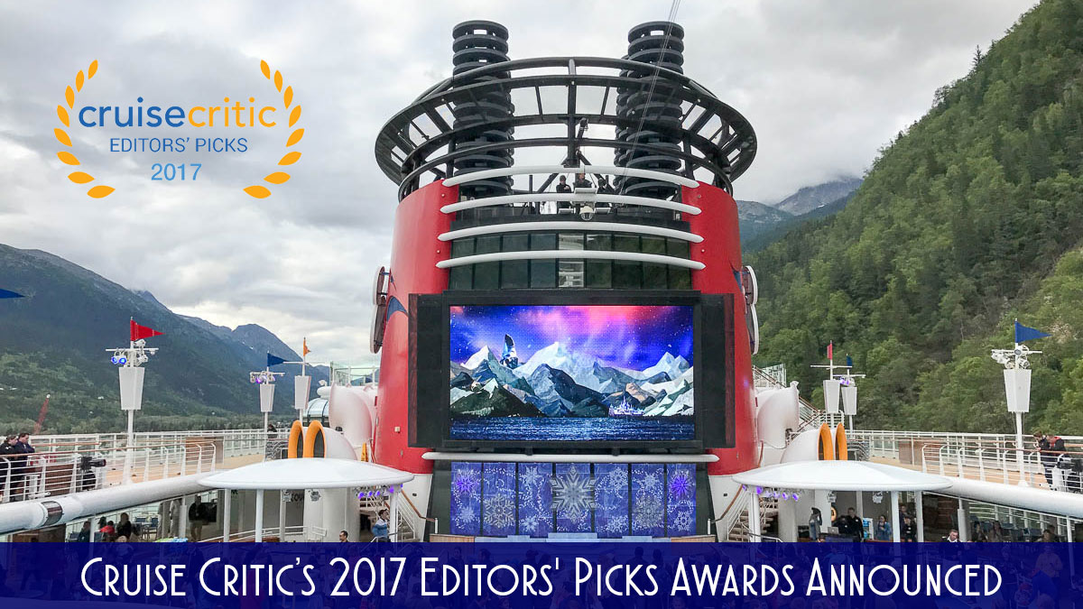 DCL 2017 Cruise Critic Editors Awards