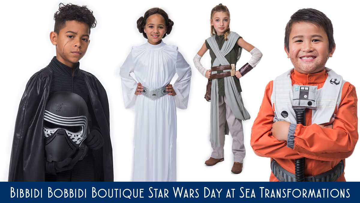 bibbidi bobbidi boutique star wars day at sea transformations revealed for the 2018 sailings. Black Bedroom Furniture Sets. Home Design Ideas