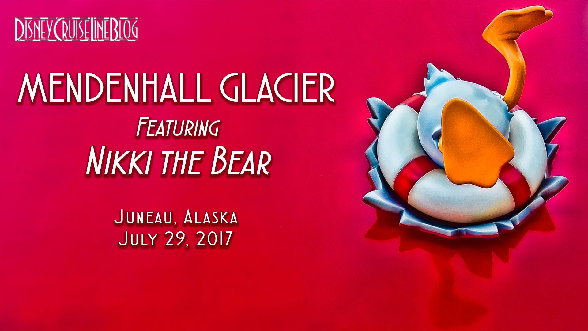Mendenhall Glacier Nikki Bear Video
