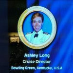 DCL Cruise Director Ashely Long