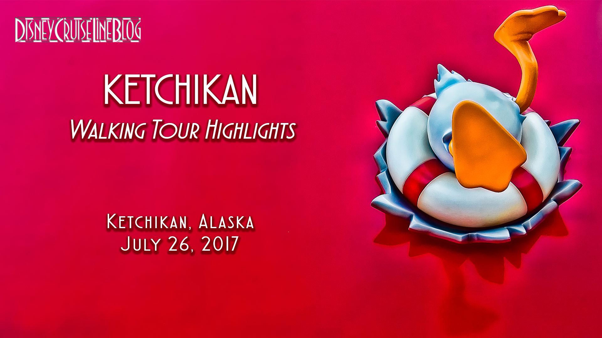 Ketchikan Walking Tour Hightlights Video